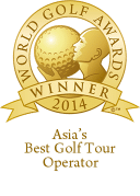 World Golf Awards Winner 2014 - Asia's Best Golf Tour Operator