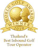 Awards-Thailand best inbound golf tour operator 2019